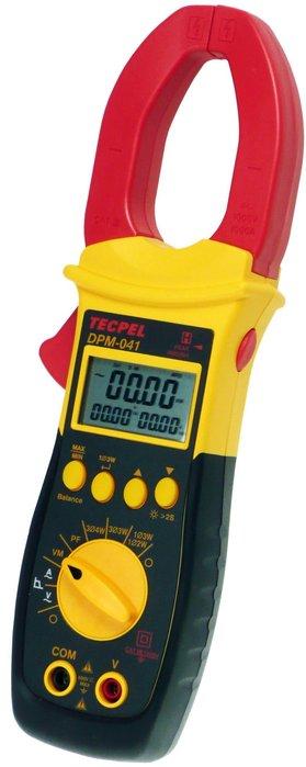 TECPEL 泰菱 》DPM-041 真實值True RMS功率鈎錶