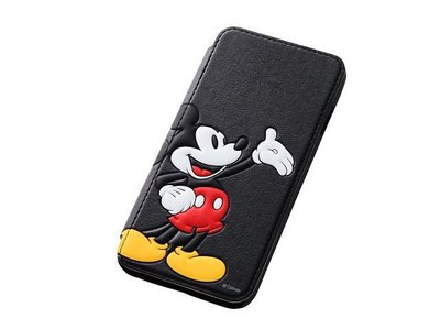尼德斯Nydus~* 日本正版 Disney 迪士尼 米奇 米老鼠 立體 皮套 翻頁式 手機殼 iphone6 4.7吋