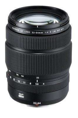 【高雄四海】Fujifilm FUJINON GF 32-64mm F4 R LM WR 全新平輸.一年保固.標準變焦鏡
