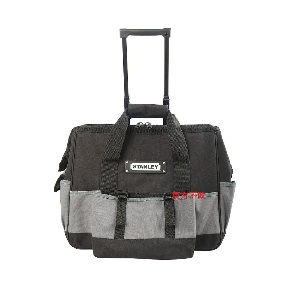 東方不敗 STANLEY 史丹利 93-328-23 20吋拉桿滑輪工具袋 收納包 拉式工具袋