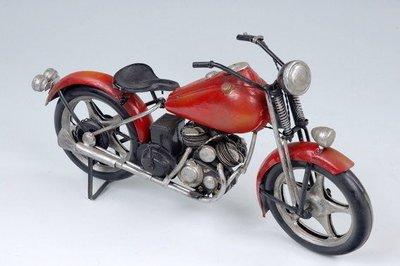 [模型館] { M635-4 }古董 哈雷 重型機車 Harley Davidson 1937