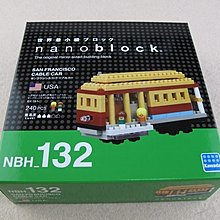 nanoblock NBH_132 San Francisco Cable Car