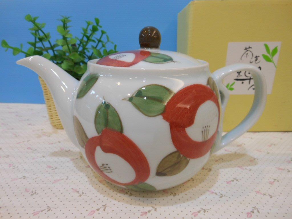 婕的店日本精品~日本帶回~有田燒丸椿日本製茶壺/泡茶壺