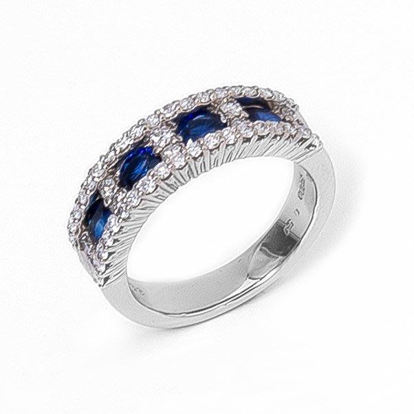 【JHT金宏總珠寶/GIA鑽石專賣】1.22克拉天然藍寶鑽戒/材質:PT900/ (JB40-A23)