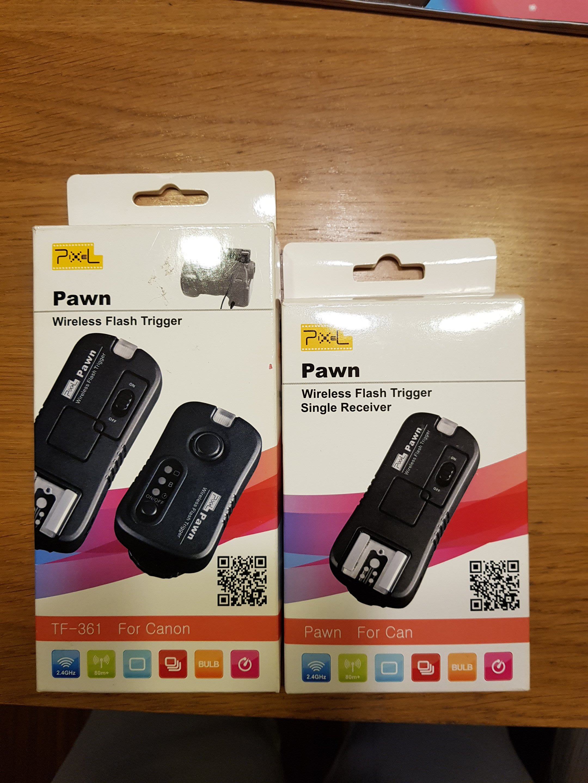 Canon PIXEL TF-361 閃燈觸發器/無限快門/閃燈遙控 for 700D 650D 550D