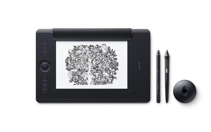 【Wacom專賣店 PTH-660】Wacom Intuos Pro Medium Paper Edition 雙功能版