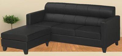 【DH】貨號Q17L《偉恩》舒適皮革L型沙發組˙簡約曲線˙質感一流˙沉穩設計˙主要地區免運