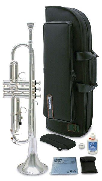 【六絃樂器】全新 Yamaha YTR-2330 S  2330S CN 鍍銀小號 / 現貨特價