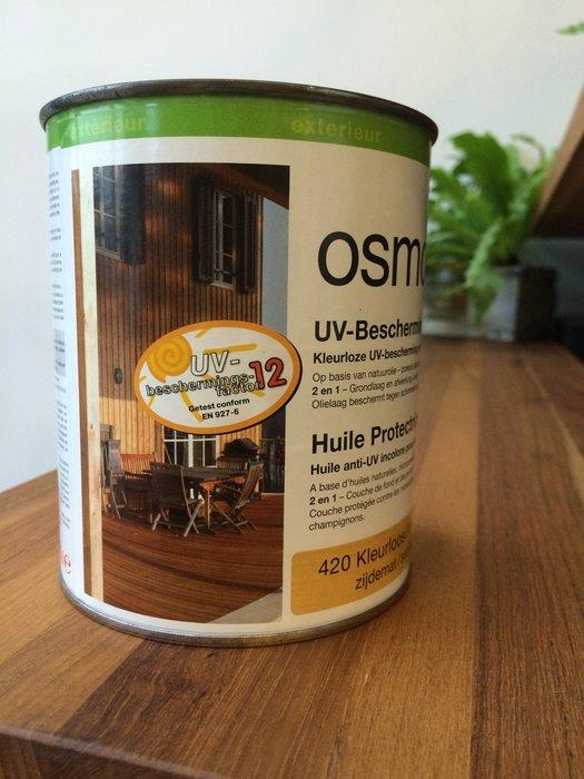 【推廣94折】室外面漆 抗紫外線 防止收縮膨脹/變灰 420 410 德國OSMO天然無毒木器塗料 木蠟油