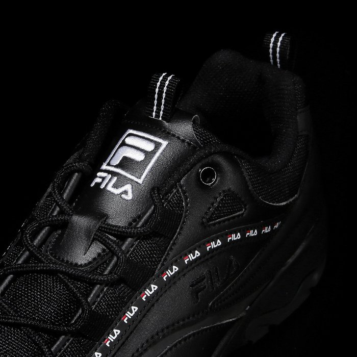 【Luxury】FILA RAY 滿版LOGO FS1SIA3102X_WBU 黑 紅 藍 白銀 復古 金裕貞 老爹鞋