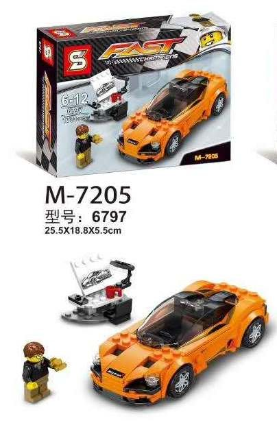 [環球]SY6797超級賽車相容LEGO非樂高75880