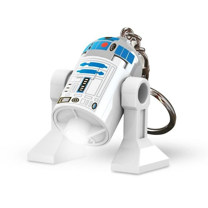 現貨附盒【LEGO 樂高】全新正品/ R2D2 LED 鑰匙圈 星際大戰 STAR WARS 人偶 公仔 高約5cm