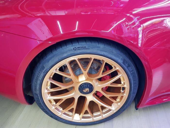 PORSCHE 991 C2 C4 專用 單孔螺絲(套件組) 單孔鋁圈 升級套件 GTS單孔螺絲(讓您的車變成單孔鋁圈)