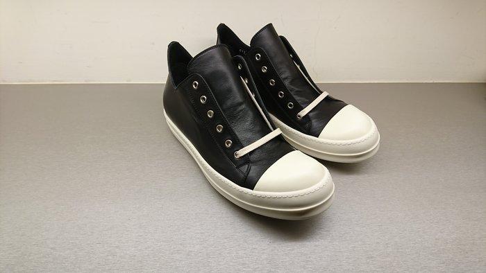 [全新真品代購-SALE!] RICK OWENS 經典款 皮革 低筒休閒鞋
