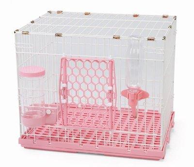 【優比寵物】歐式簡約610-S款《全配件》寵物籠(底盤抽正式)寵物屋/狗籠/貓籠/兔籠(附自動餵食器/飲水器)/