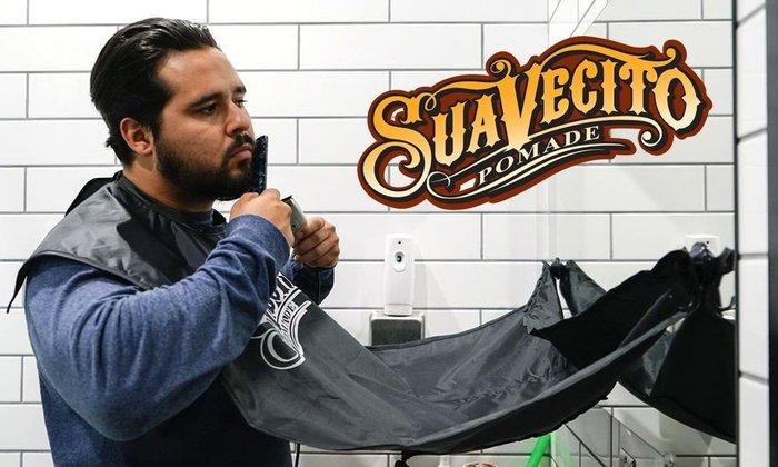 GOODFORIT / 加州Suavecito Beard Grooming Cape鬍鬢專用防水修剪袍