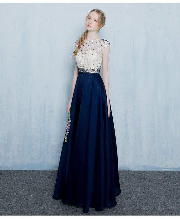 【曼妮婚紗禮服】3件免郵~結婚敬酒 婚禮 宴會 修身顯瘦 長禮服C490