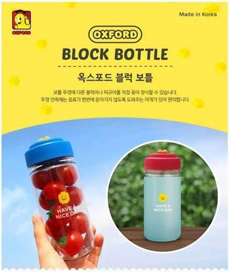 韓國oxford樂高積木冷水壺