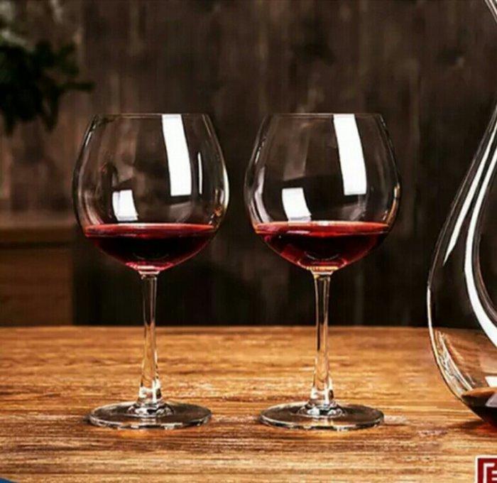 無鉛水晶玻璃手工吹製紅酒杯葡萄酒杯高腳杯650ml【 蘇菲亞精品傢飾】