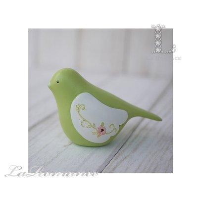 【荷蘭 Clayre & Eef 特惠系列】 綠色小鳥擺飾 / 動物 / 鄉村風 / 童趣