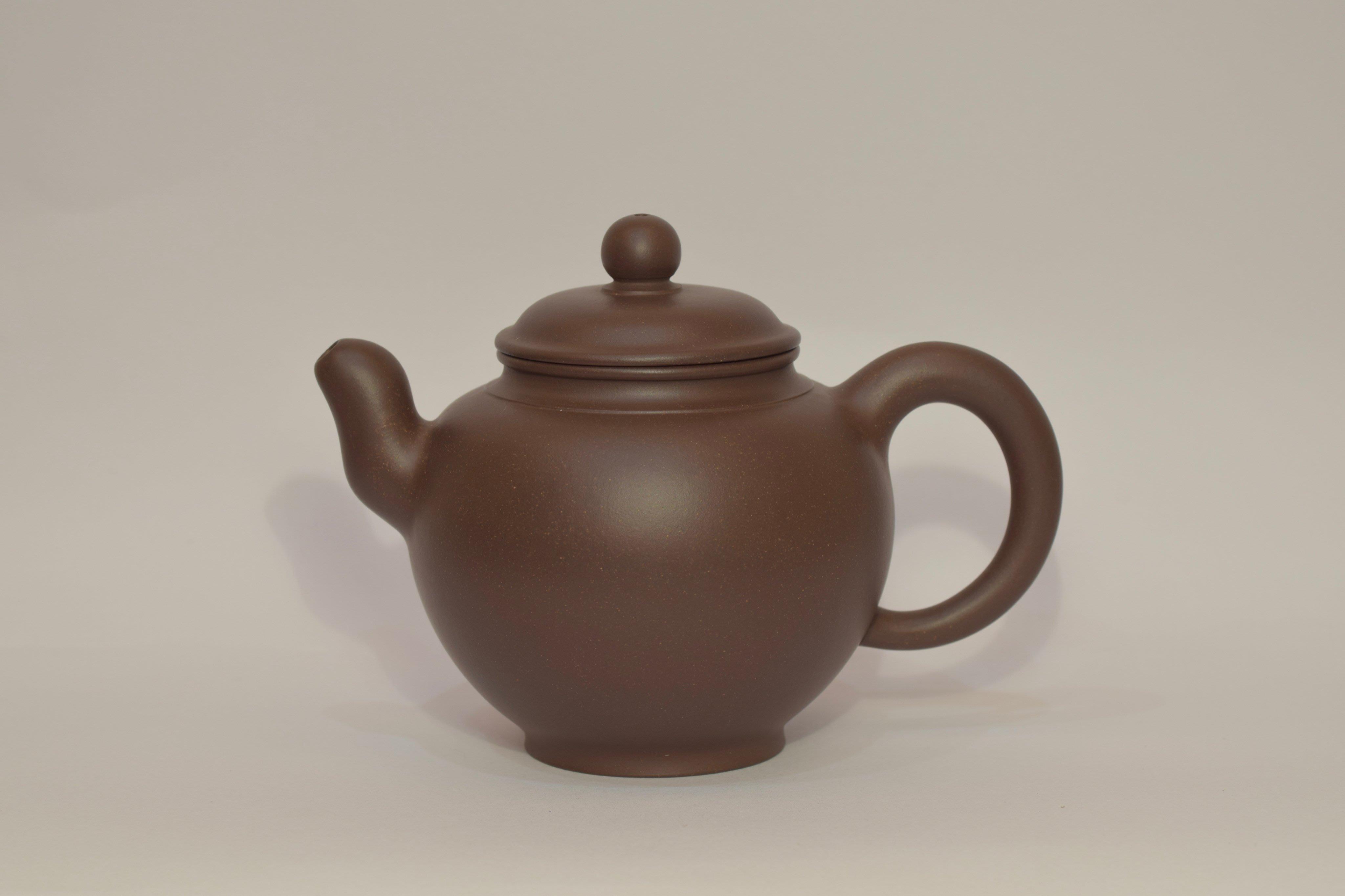 [三奇齋] 早期紫砂圓筒壺 姚志源製 國家級高級工藝美術師