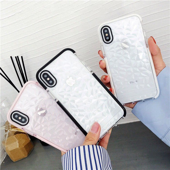 防摔殼 iphone手機殼 簡約透明貝殼風 i6/i6s/i7/i8/iX 軟殼【來殼一下