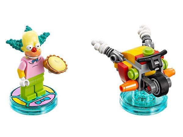 【LEGO 樂高 】100% 全新美國正品 益智玩具 積木/ 辛普森三合一次元系列 小丑 Krusty 71227