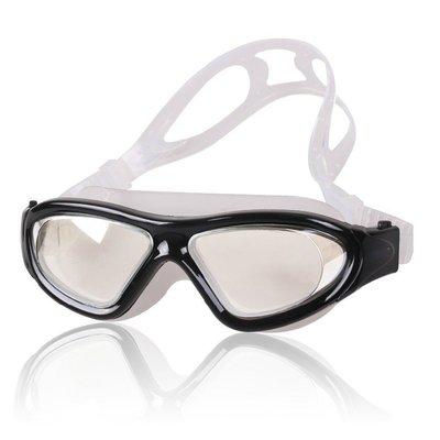 大框防水防霧舒適高清泳鏡-成人款-男女通用-現貨或預購JJ8120