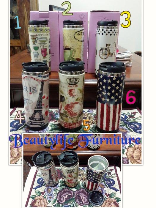 美生活館 ---新款英國Royal Duke陶瓷旅行杯 保溫杯拿鐵杯陶瓷304 不鏽鋼時尚杯--共有六款