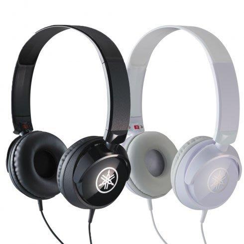☆ 唐尼樂器︵☆公司貨 Yamaha HPH-50 高級耳罩式立體聲耳機(黑白兩色)