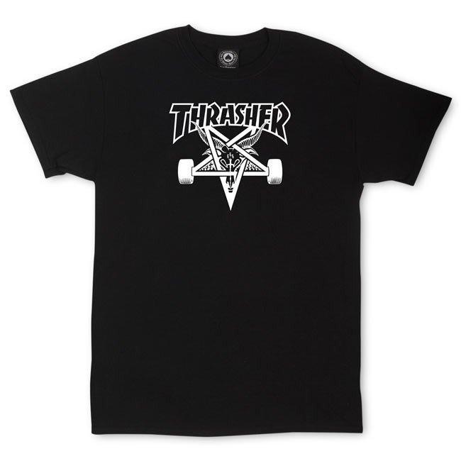 《Nightmare 》Thrasher Magazine Skategoat T-Shirt - Black