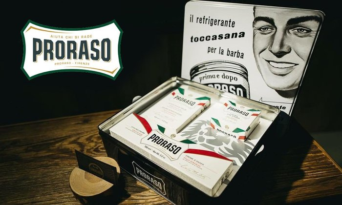 GOODFORIT / 義大利PRORASO Sensitive Tin萊姆蘋果敏感肌白色復古修容禮盒