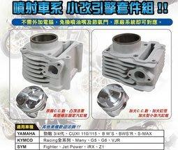 勁輪車業 TD勁戰三代/四代/BWS/BWSR/CUJI110/115汽缸組免改噴油嘴電腦有效提升馬力