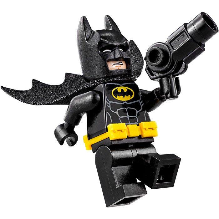 現貨【LEGO 樂高】全新正品 益智玩具 積木/ 蝙蝠俠電影70900 | 單一人偶: 蝙蝠俠+三爪噴射槍 Batman