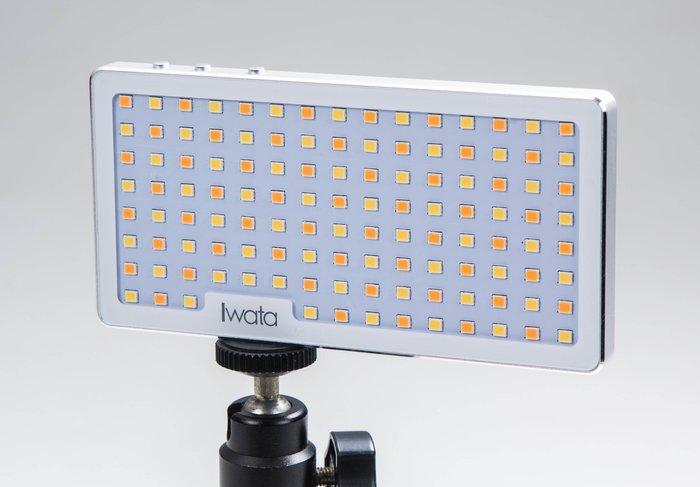 呈現攝影-IWATA GL-01 小精靈高級雙色溫LED燈 航太鋁合金 小巧 超薄 補光燈 直播 iphone