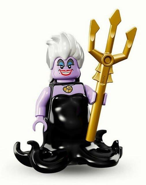 現貨【LEGO 樂高】Minifigures人偶系列:迪士尼Disney 人偶包抽抽樂71012 | 烏蘇拉Ursula