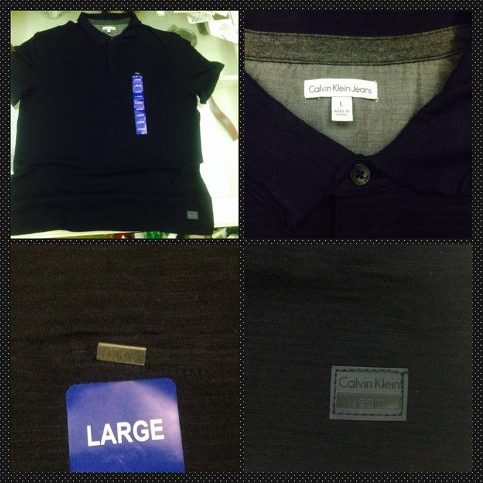 Costco 好市多 Calvin Klein CK凱文克萊 男短袖純棉POLO衫 特價:800元