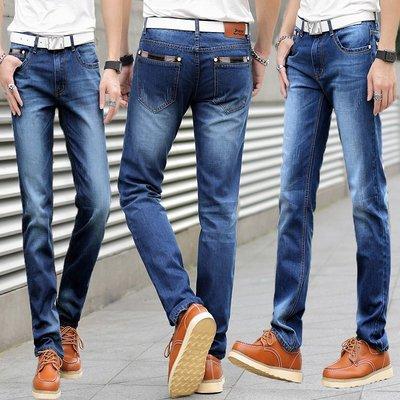 韩版男式长裤男装直筒修身牛仔长裤潮男JAENS620多款 Y6698-815