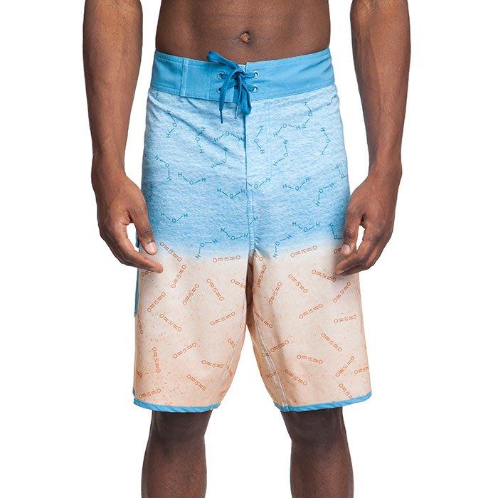 【丹】ThinkGeek_The Science of Summer Board Shorts 元素 化學式 海灘褲