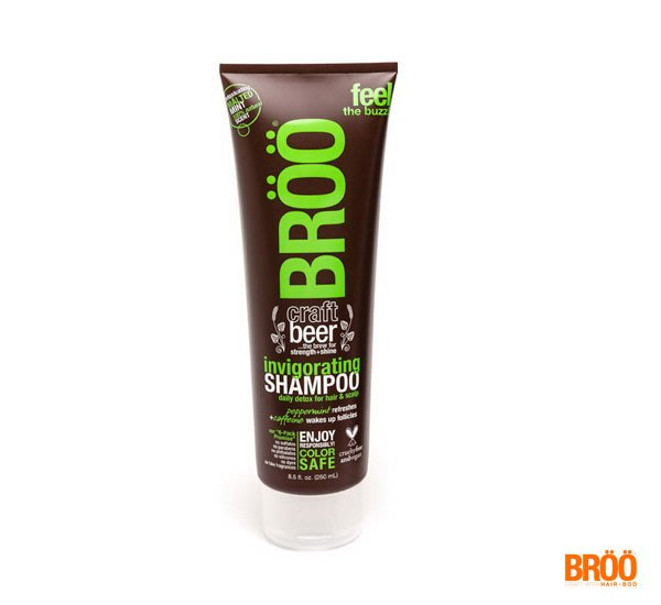 GOODFORIT / 美國BROO Shampoo薄荷精釀啤酒無矽靈咖啡因豐盈洗髮精/250ml
