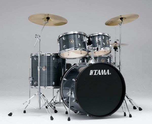【六絃樂器】全新 Tama RHYTHM MATE 高級爵士鼓 + Paiste 101 套裝銅 / 髮絲銀色 現貨特價