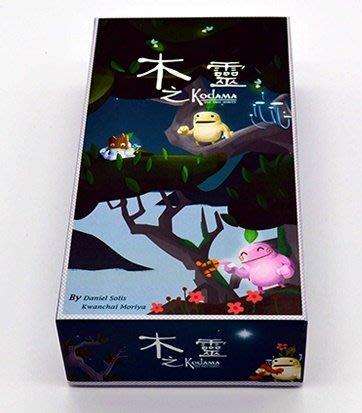 ~陽光桌遊世界~    Kodama the Tree Spirits 木之靈 桌上遊戲