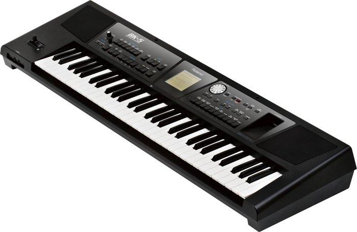【六絃樂器】全新 Roland BK-5 BK5 自動伴奏鍵盤 電子琴 / 附原廠琴袋 雙X琴架 分期付款優惠
