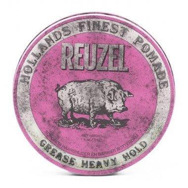 『山姆百貨』REUZEL Heavy Hold Pomade 粉紅豬油 油性髮油 4oz 可門市自取 面交 超取