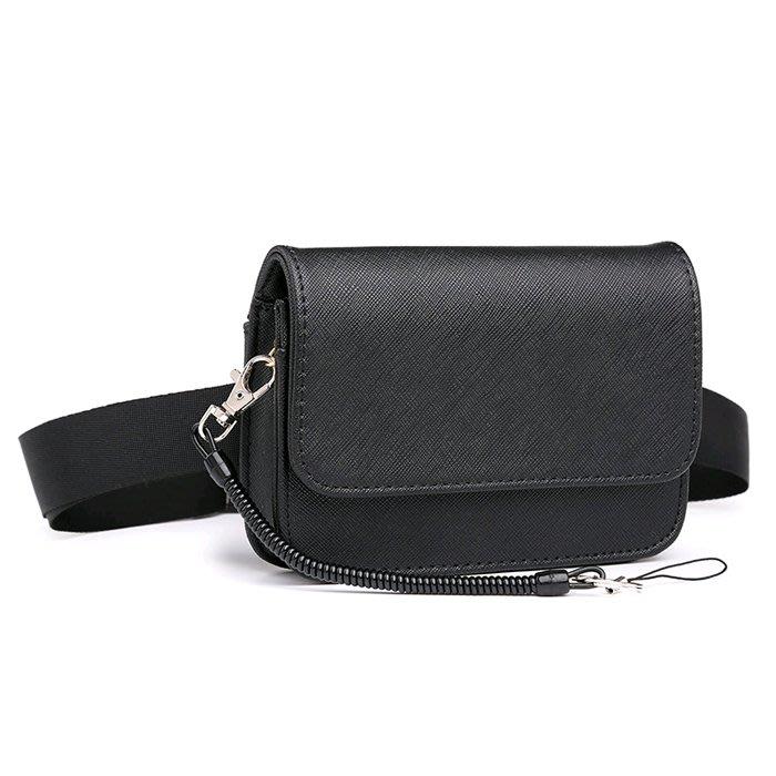 【米蘭箱包】女士式男小腰包皮 汽車銷售珠寶導購腰包女小包1805ML013
