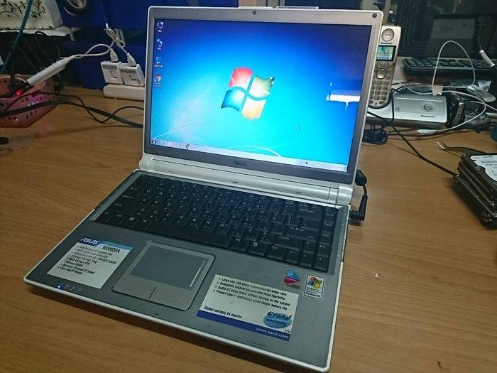 ☆1到6☆ASUS W3H00A 單核 筆電 /硬碟80G/記憶體1.5G/WIN7/功能正常 jj262