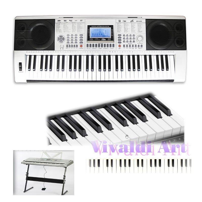 電鋼琴松井代理全新268B系列震撼61鍵5力度鋼琴鍵參考Casio CDP-130含譜架CD送3D光學滑鼠免運有貨到付