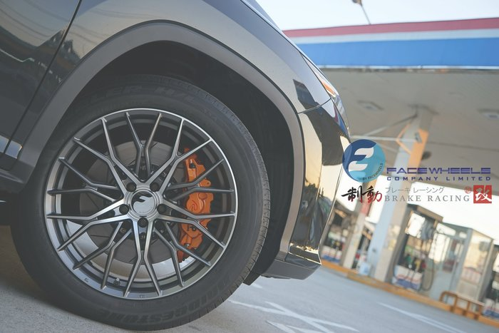 Lexus RX 休旅車專用 Face Wheels FF72 Flow forming 旋壓鑄造輕量化 / 制動改