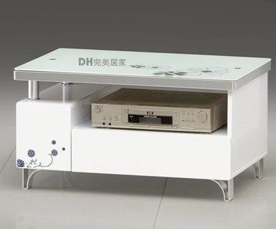 【DH】貨號Q0806《莫斯科》2.6尺白亮面電視櫃/長櫃˙小空間最愛˙質感一流˙主要地區免運