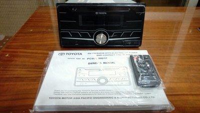 TOYOTA 原廠 藍芽 音響主機 USB MP3 RAV4 WISH VIOS INNOVA (優惠價2900元)